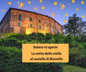 La notte delle stelle al castello di Bianello