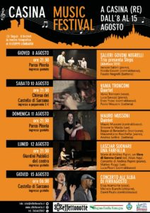 Casina Music Festival_locandina
