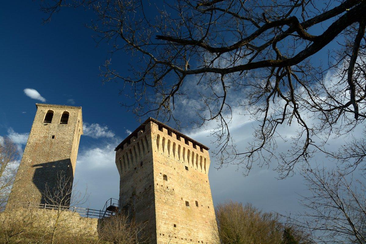Castello di Sarzano. Autunno inverno