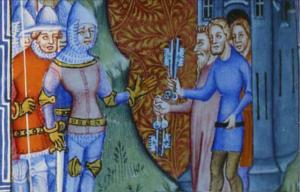 Il Signore di Sarzano. Vita a castello nel 1374